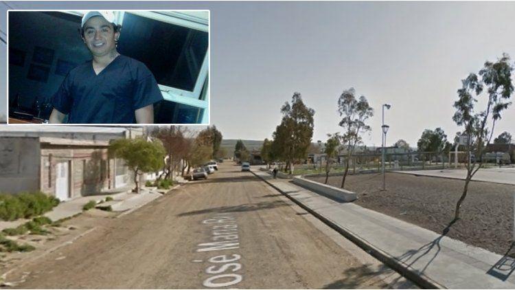 Brian Montero fue quemado por la pareja de su ex