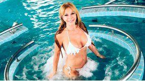 Graciela Alfano disfruta de Villa Carlos Paz