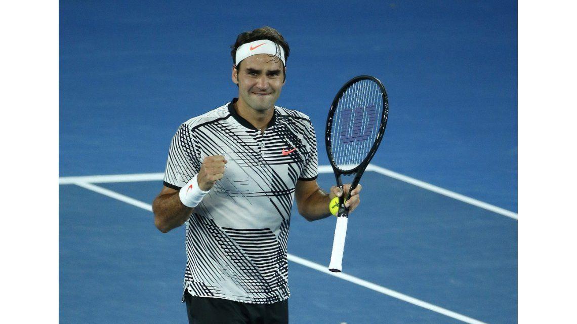 Roger Federer volvió al top ten del ranking ATP