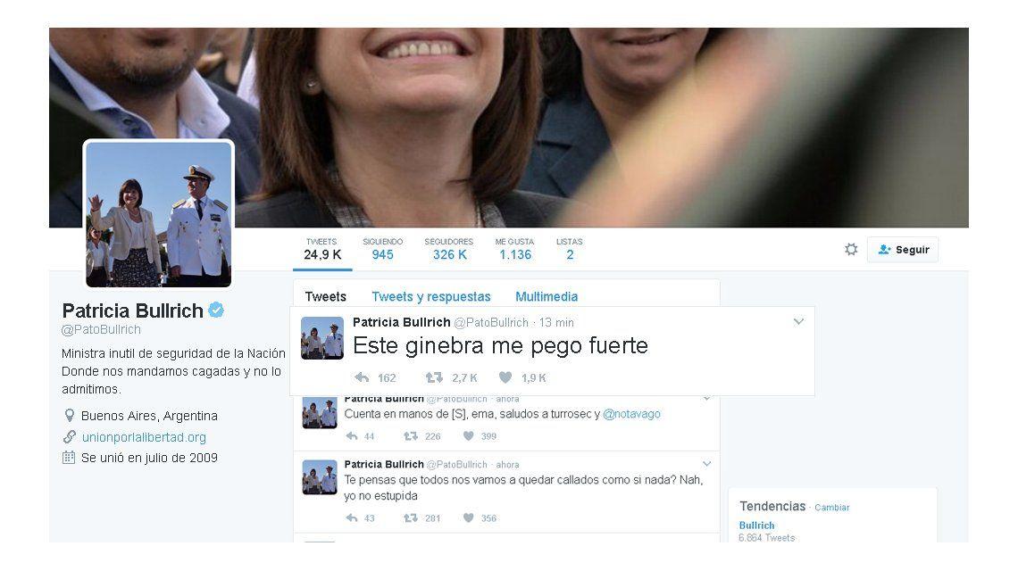 No le sale una: a Patricia Bullrich ahora le hackearon la cuenta de Twitter