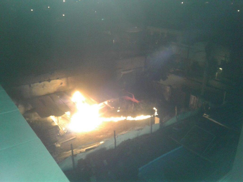 Susto en Córdoba por una explosión en un estacionamiento