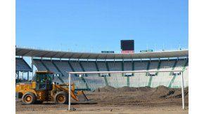 Obras en el Estadio Mario Alberto Kempes