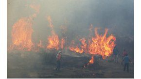 Así están las llamas en varios lugares de Chile