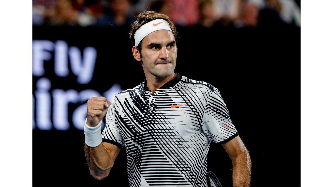 El punto que le dio gran parte del título a Roger Federer