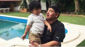 Diego Maradona, por la tenencia de Dieguito Fernando