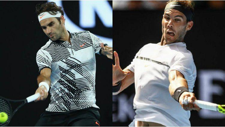 Federer contra Nadal