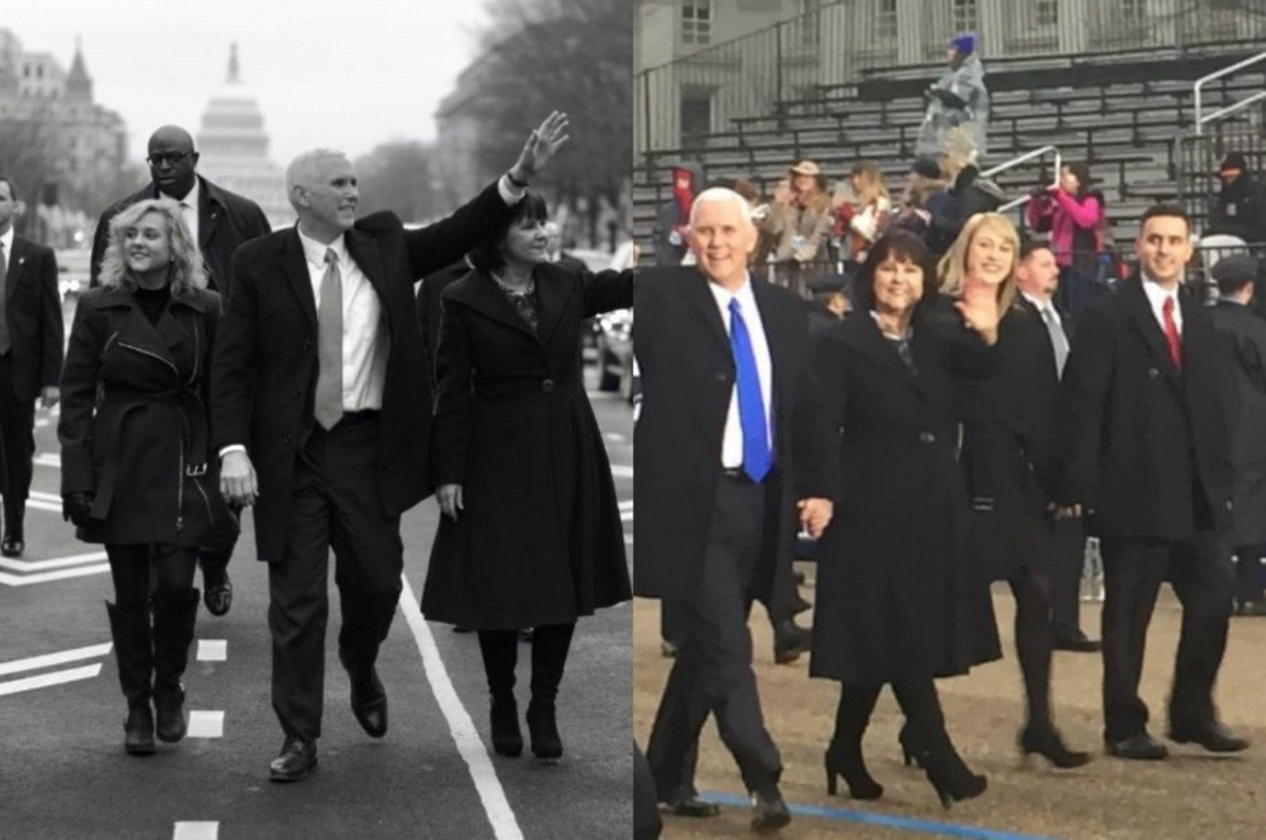 Desfile inaugural del vicepresidente de EE.UU.