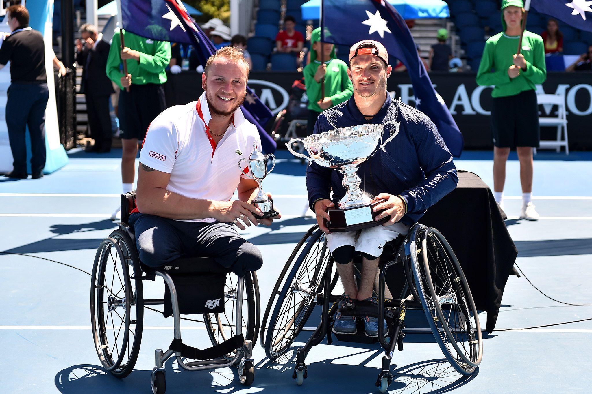 El argentino Gustavo Fernández, campeón del Abierto de Australia de tenis adaptado