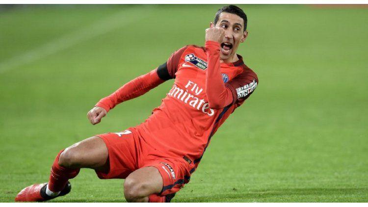 Di María anotó el primer y el cuarto gol del PSG ante Bordeaux