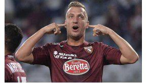 Maxi López, criticado duramente por el DT de Torino