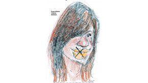 Cristina Kirchner por Menchi Sabat