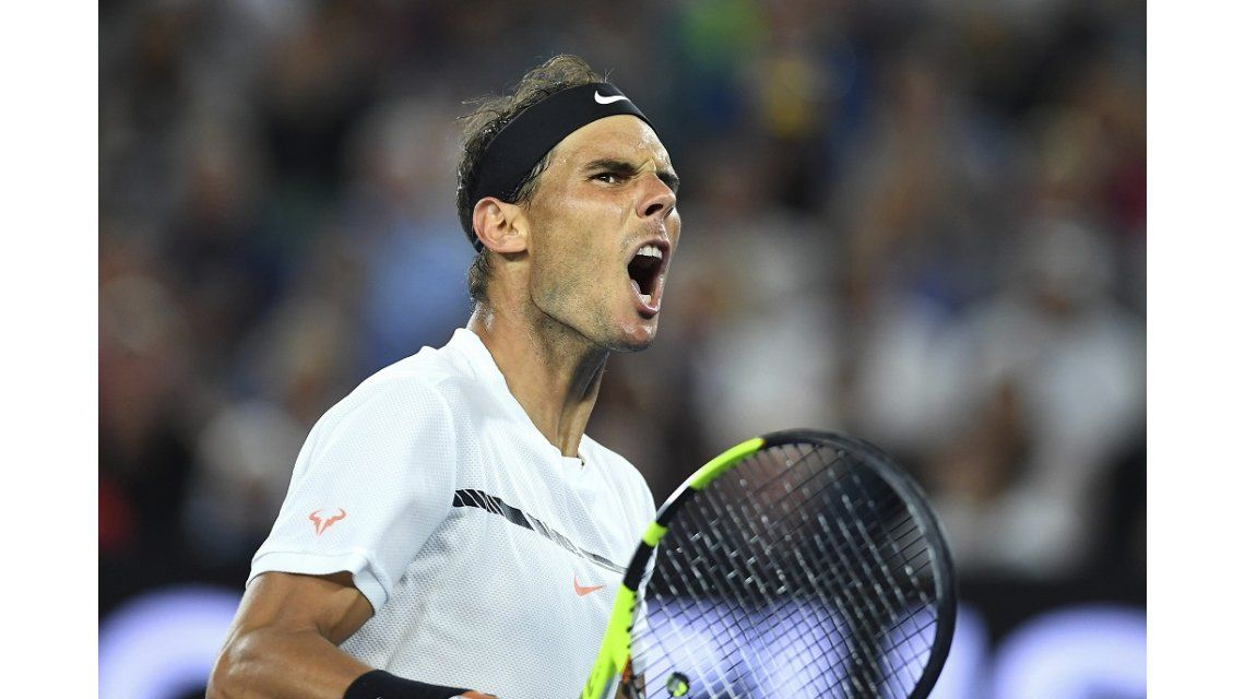 Abierto de Australia: Nadal le ganó a Dimitrov y jugará la final ante Federer