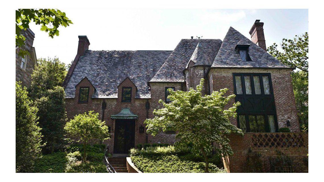 Así es la casa donde vivirán los Obama en Washington