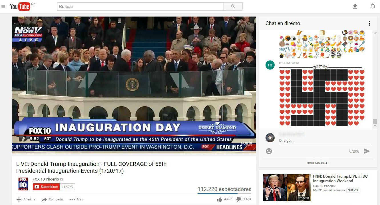 Así fue la inauguración de Trump