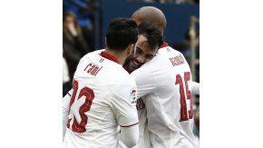 El Sevilla ganó e hizo historia en la liga española