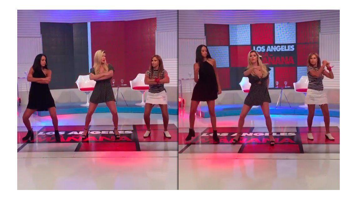 Naiara y Laurita en el Desafío Baila
