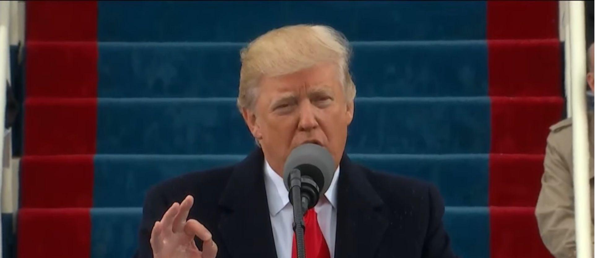 Trump: Nos guía una nueva visión, siempre primero los Estados Unidos
