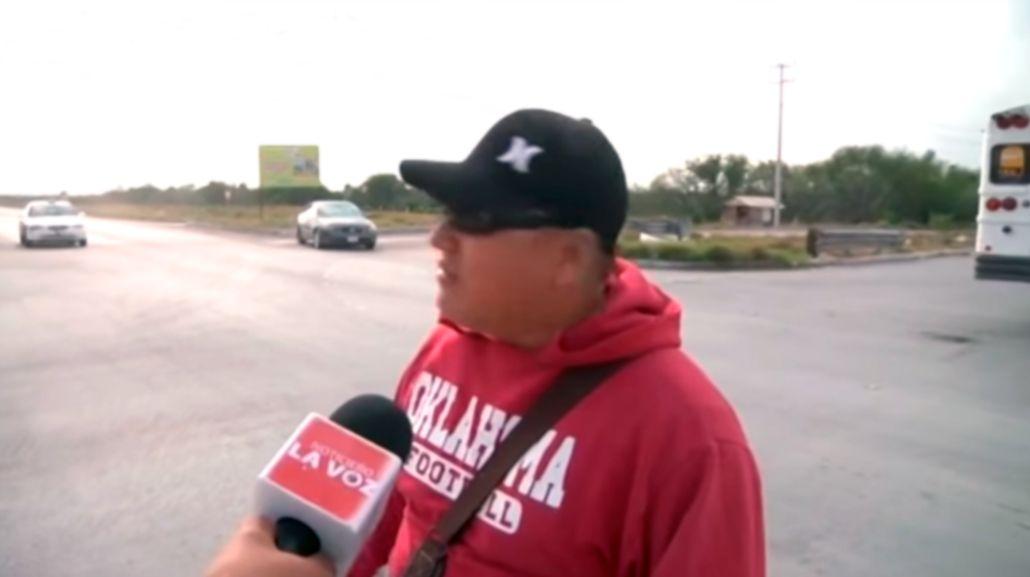 Un hombre anticipó un accidente en México