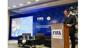 Zanetti asumió en la FIFA - Crédito:@javierzanetti