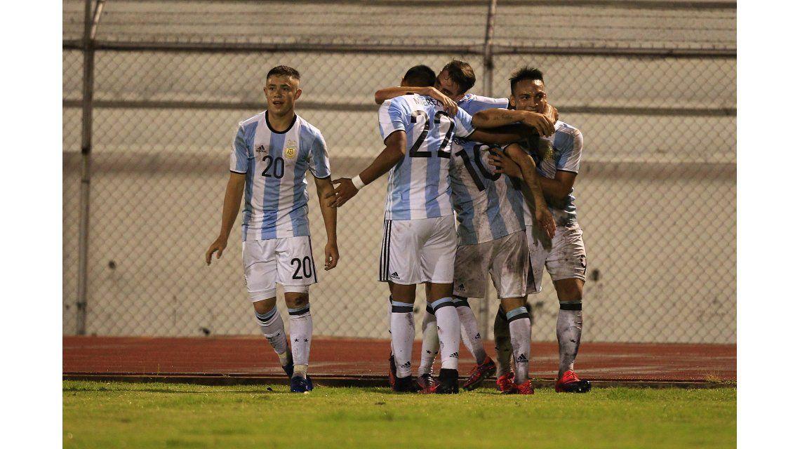 La Sub 20 no jugó bien y rescató un empate ante Perú en el debut