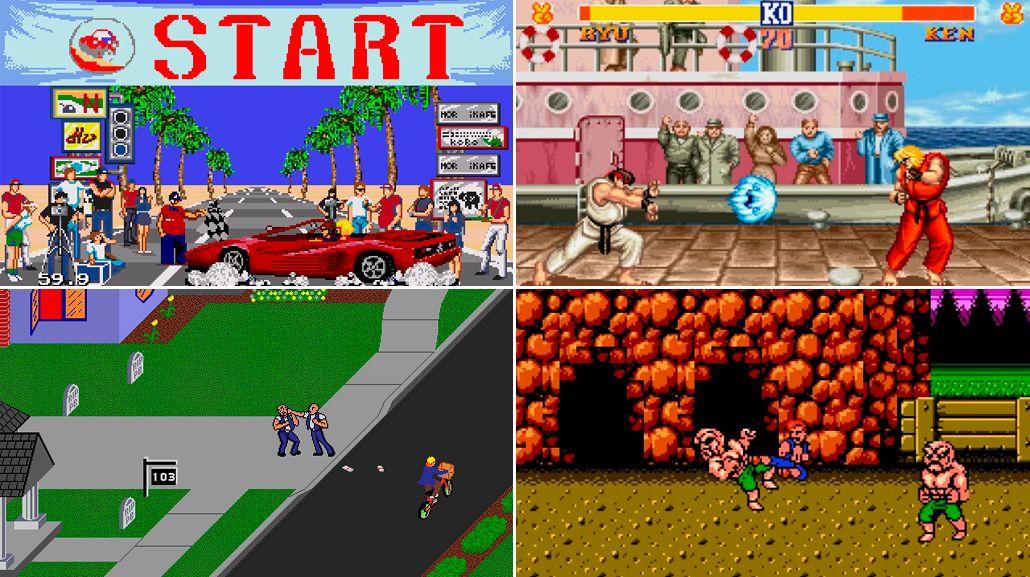 Los mejores juegos retro y dónde jugarlos online