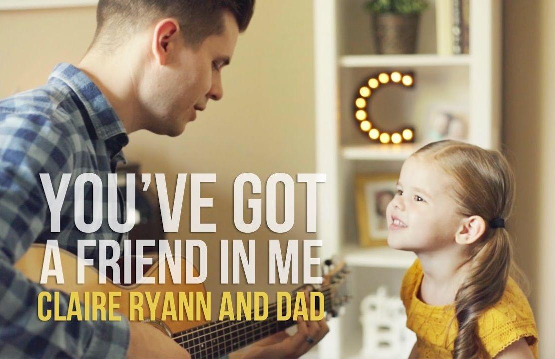 Claire Ryann con Dave Crosby cantan la canción de Toy Story