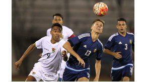 Argentina y Bolivia en el Sudamericano Sub 20