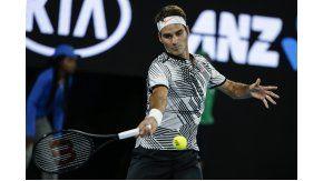 Federer, imparable en Australia