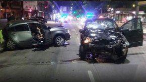 Borracho, chocó y mató a una mujer durante una picada en Vicente López.