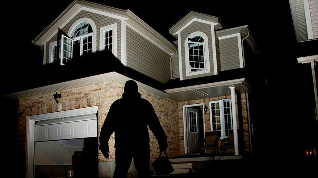 Los ladrones eligen casas vacías