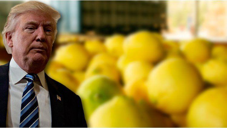 Extienden la suspensión a los limones argentinos por 30 días