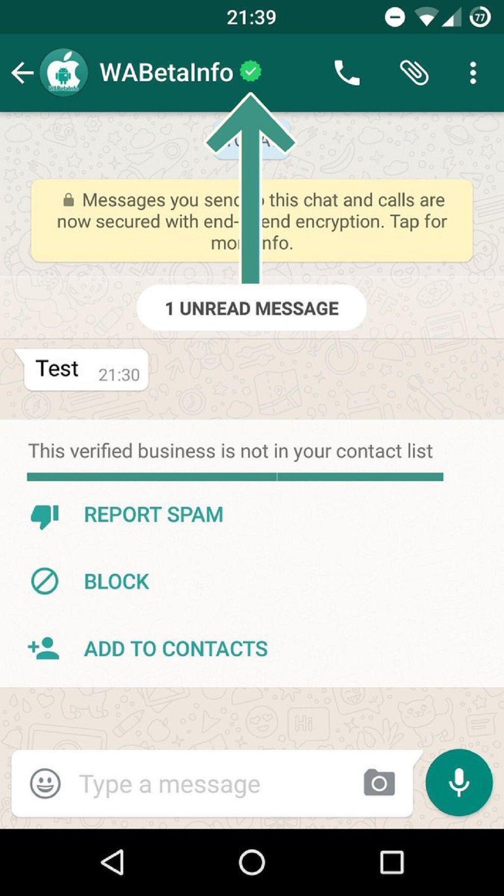 WhatsApp comenzará a verificar cuentas de empresas