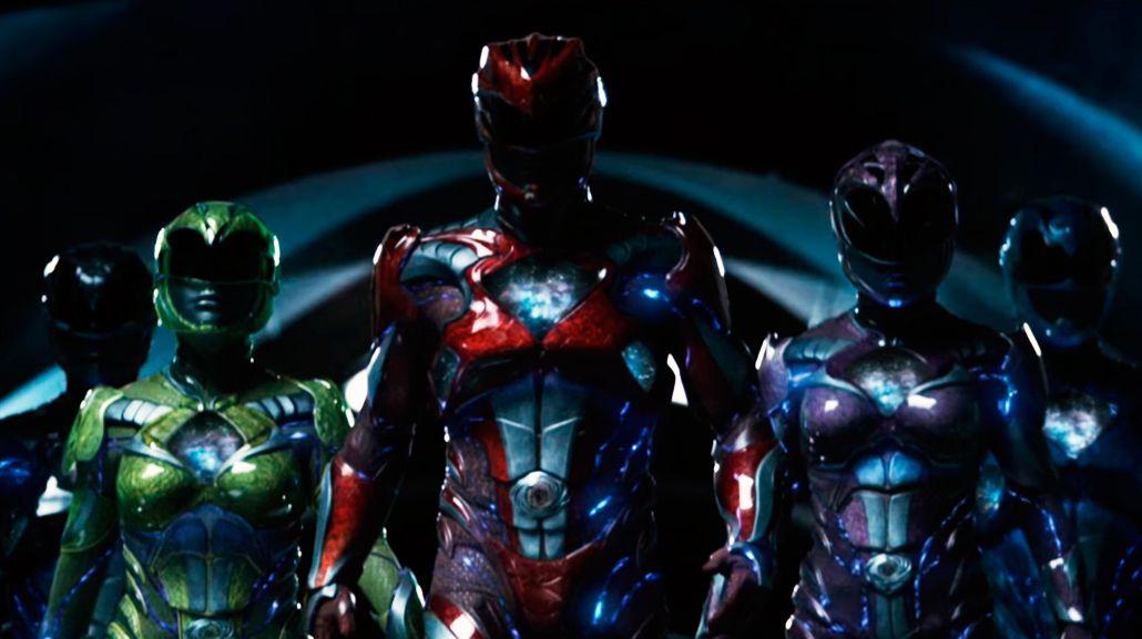 Los Power Rangers llegan al cine