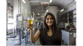 Vilma Vilte, jueza sensorial de una cervecera Gentileza: El Tribuno