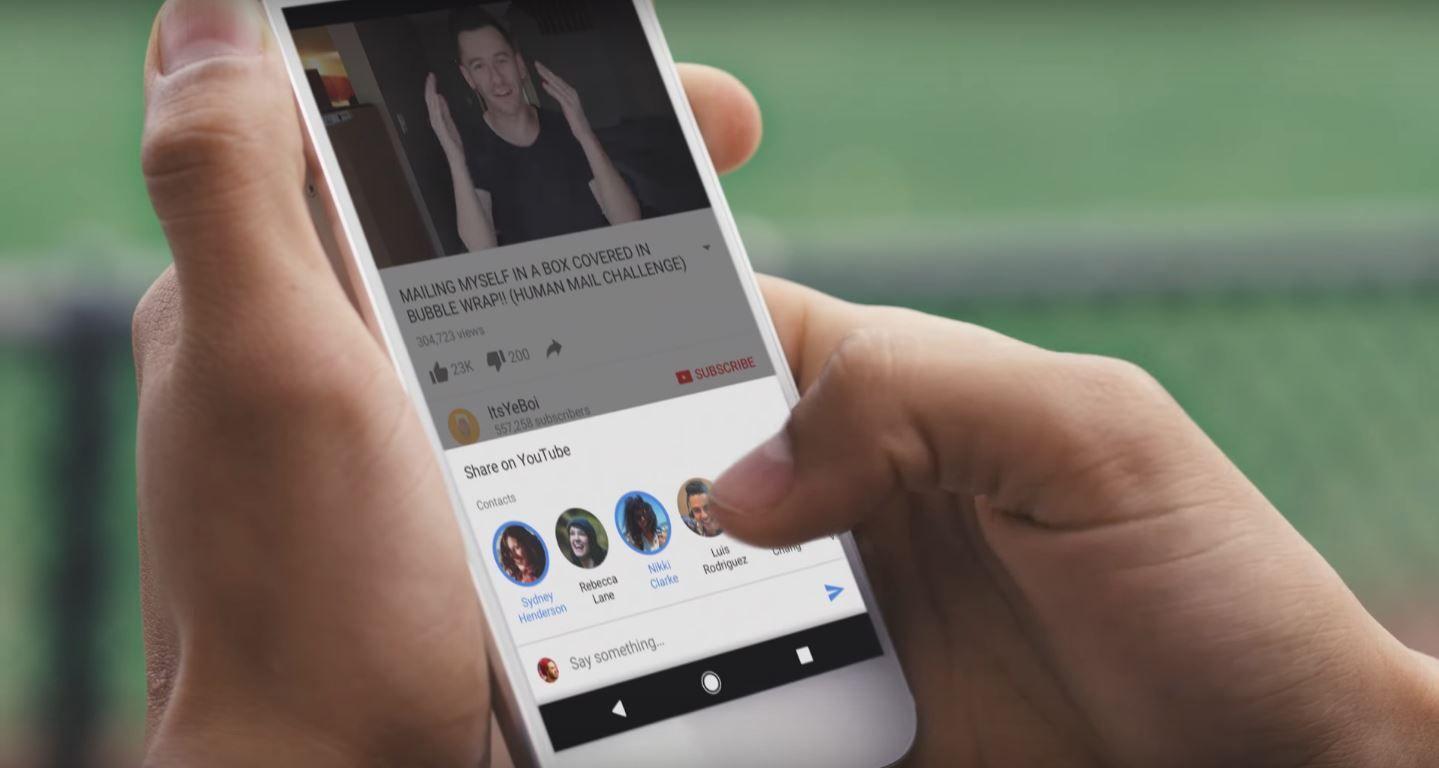 YouTube se convierte en una app de mensajería