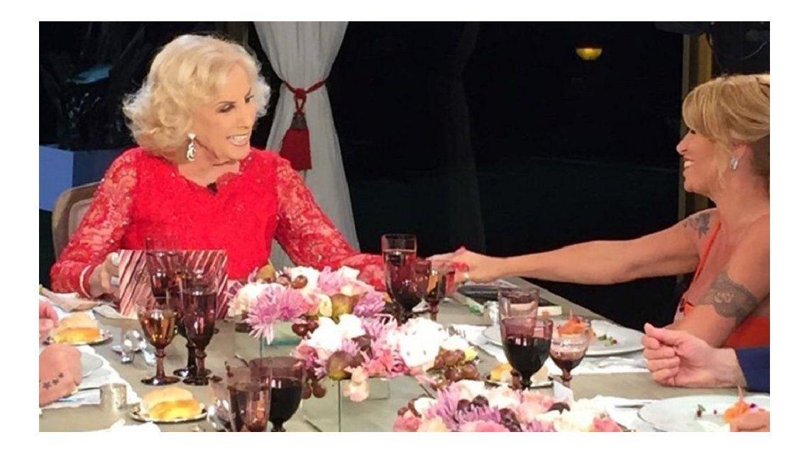 Mirtha Legrand con Florencia Peña