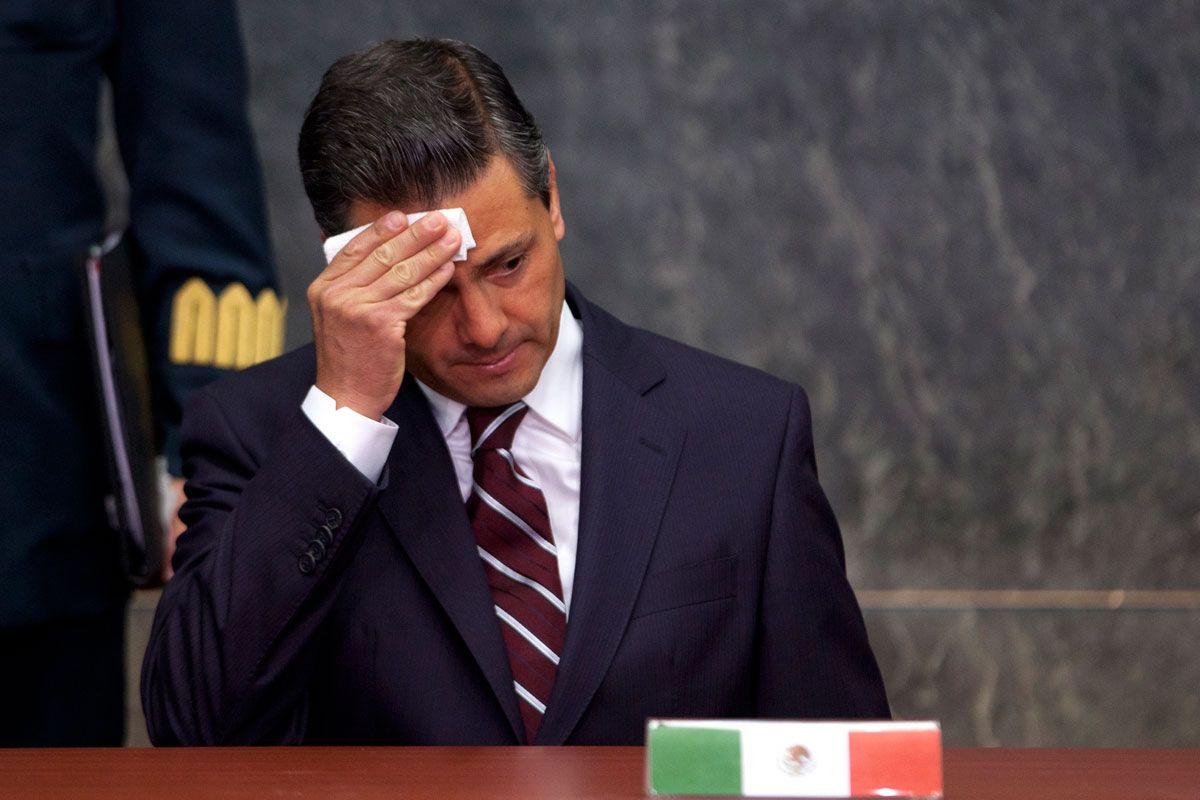 Enrique Peña Nieto preocupado