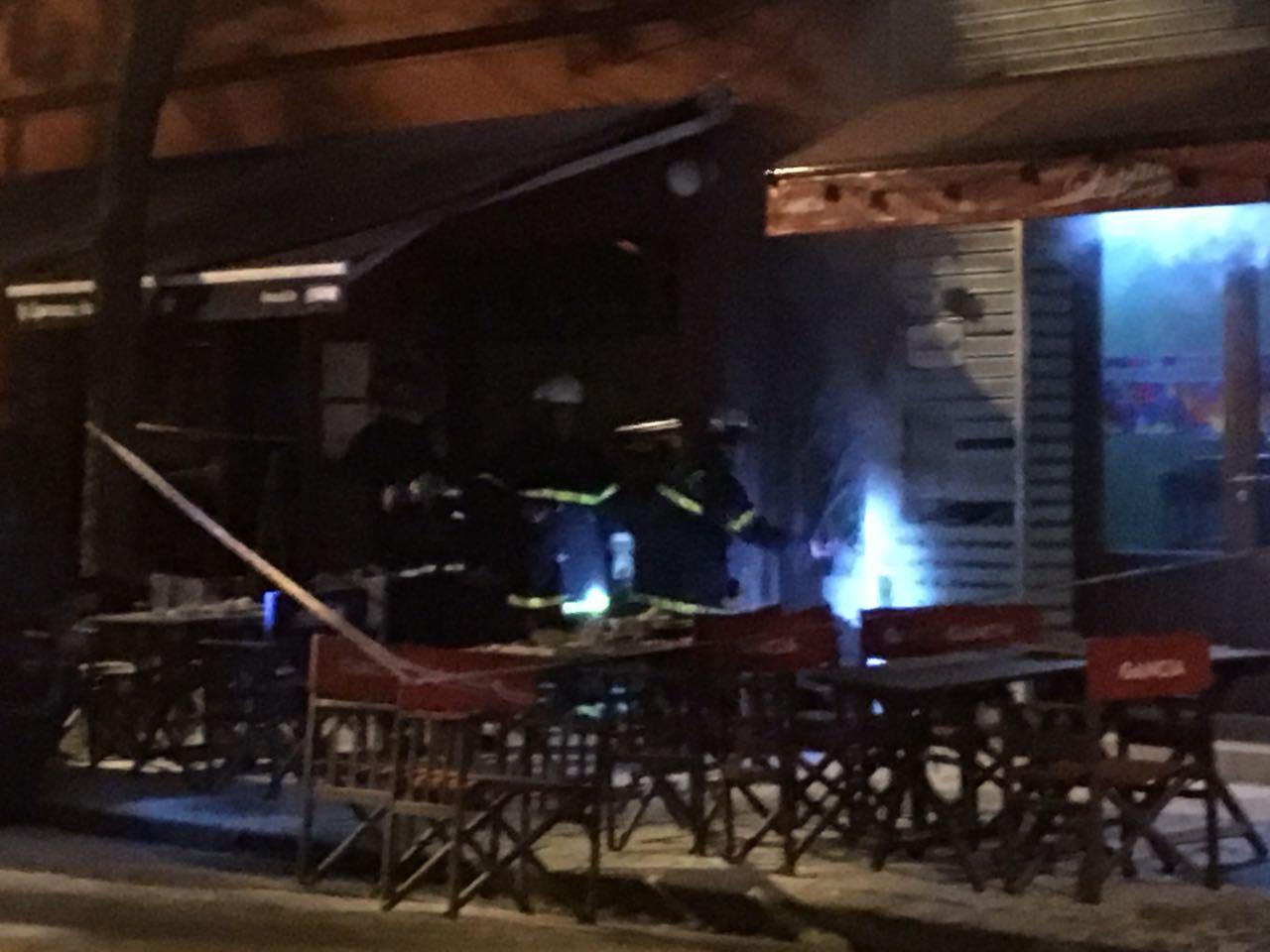 Incendio en restaurante Lupita