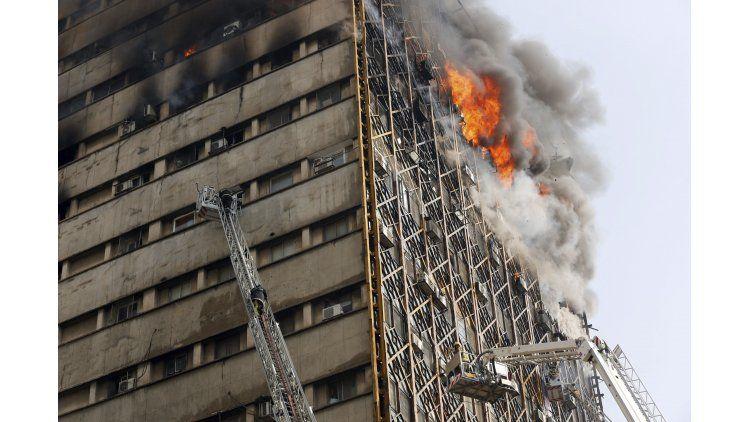El edificio tenía 17 pisos