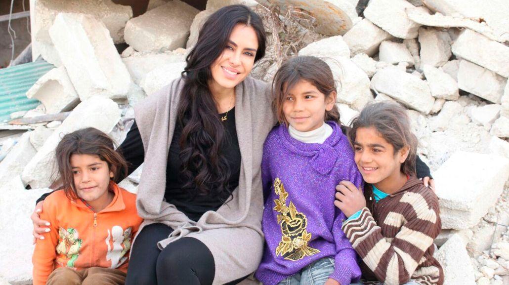 Carla Ortiz viajó a Alepo