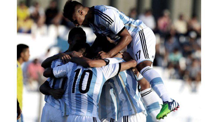 La selección argentina sub 20 debuta en el Sudamericano