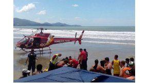 Un turista argentino se descompensó y murió en Itapema