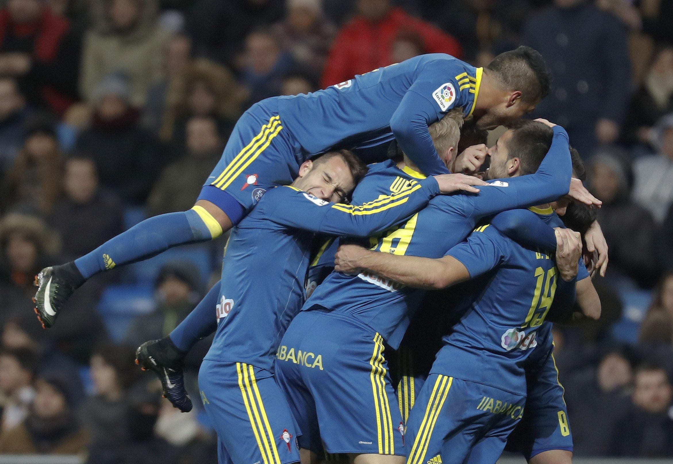 El Celta de Eduardo Berizzo le ganó al Real Madrid