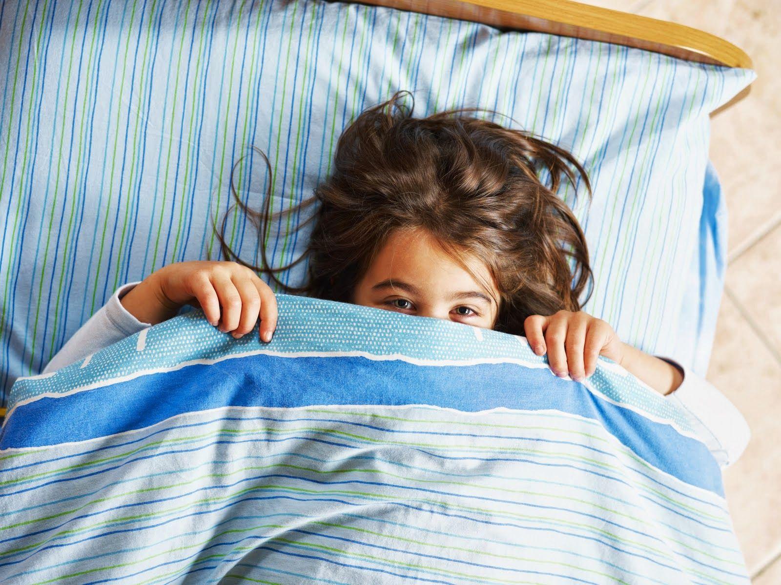 El pis en la cama puede ser un tema serio