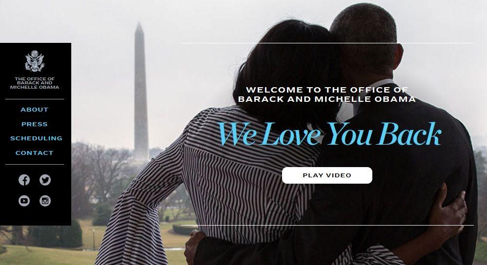 El sitio oficial de Barack Obama