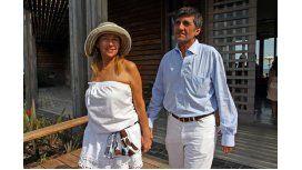 Marcela Tinayre dijo que no está separada de Marcos Gastaldi