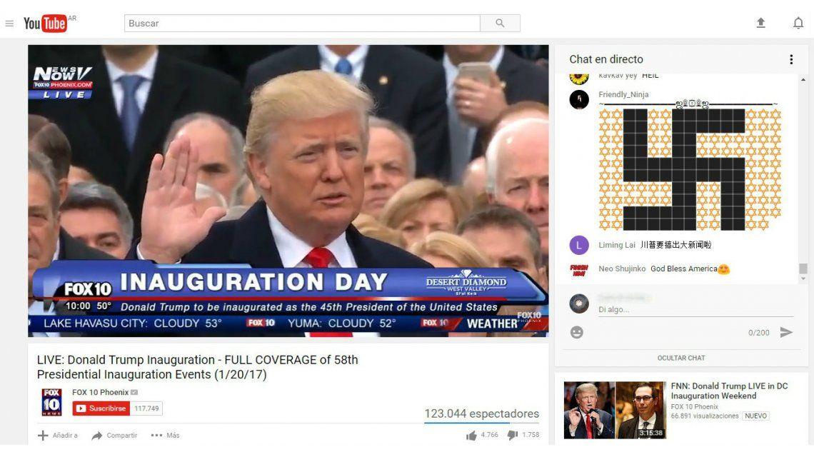 Trump asumió como presidente