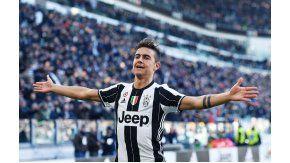 Paula Dybala marcó un gol en la victoria de la Juventus