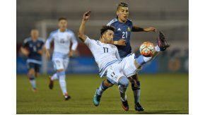 Argentina y Uruguay chocan en el estadio Olímpico de Ibarra, Ecuador