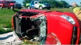 El accidente ocurrió en Chascomús